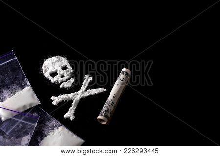 Drug Dependence Kills A Line