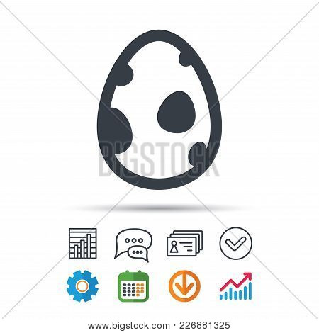 Dinosaur Egg Icon Birth Symbol