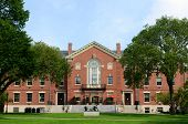 Faunce House Is A Colonial Revival Style Building In Brown University. This Building Was Built In 19 poster