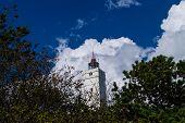 The Lighthouse Blavandshuk Fyr At The Westcoast Of Denmark poster
