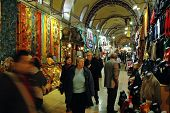 Inside in the Grand Bazaar, Istanbul, Turkey
