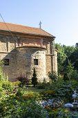 Medieval Zaova Monastery Near Village Of Veliko Selo, Sumadija And Western Serbia poster