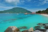 Beautiful seascape at Perhentian islands, Malaysia