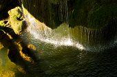 stock photo of semen  - Waterfall Bigar at Semenic national park - JPG