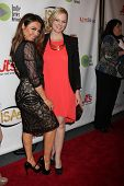 LOS ANGELES - APR 2:  Lily Melgar, Martha Madison at the 2014 Indie Series Awards at El Portal Theat
