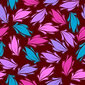 Seamless Floral Pattern - Illustration.eps
