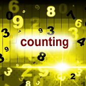 pic of numbers counting  - Counting Numbers Meaning One Two Three And Learn - JPG