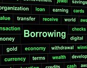 foto of borrower  - Debt Borrowing Meaning Financial Obligation And Liabilities - JPG