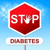 pic of diabetes  - Diabetes Stop Indicating Warning Sign And Prevent - JPG