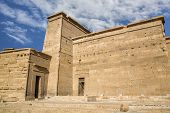 foto of ptolemaic  - Ancient Temple in Philae Egypt UNESCO World Heritage Site - JPG