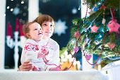 picture of christmas baby  - Happy Laughing Kids - JPG