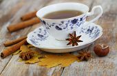 picture of cinnamon  - Cup of tea - JPG