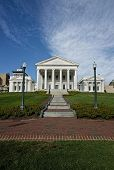 stock photo of virginia  - Virginia State Capital building in Richmond Virginia - JPG