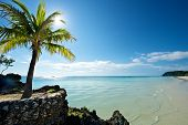 foto of boracay  - Beach in Boracay Island in the Philippines - JPG