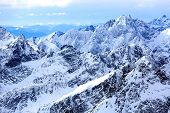 image of mountain-high  - Mountains landscape in High Tatras - JPG