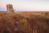 foto of kansas  - Castle Rock in Kansas is a dramatic 70 - JPG