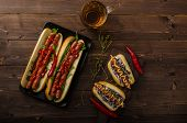 picture of wiener dog  - All beef dogs variations nice hot dogs with beer differend sizes and delicious flavour - JPG