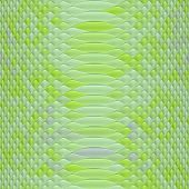 picture of green snake  - Snake green skin generated texture or background - JPG