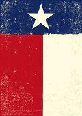 foto of texans  - Texas grunge poster - JPG