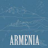 stock photo of armenia  - Armenia  infographics - JPG