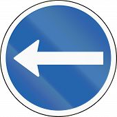 foto of traffic rules  - An Icelandic traffic sign  - JPG