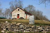 picture of hughes  - historic pioneer home in Middle Tennessee Sumner County the Hugh Rogan house - JPG