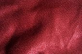 Red Fabric Seamless Background