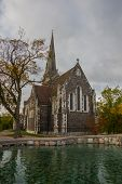 Copenhagen, Denmark: St. Albans Church, Locally Often Referred To Simply As The English Church, Is  poster