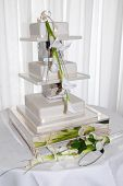 picture of three tier  - wedding cake three tier with carla lily - JPG