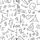 Cognitive Banner Geometry Numbers Randomness. Drawing Art Style Mathematical Inventions, Calculation poster