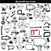 foto of bobble head  - Arrow Doodles - JPG