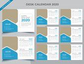 Calendar 2020 Templates In Vecto Design Illustration 9 poster