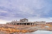 picture of chukotka  - Abandoned buildings in Anadyr town - JPG