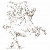 pic of centaur  - An hand - JPG