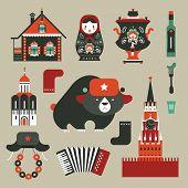 Постер, плакат: Русские иконы