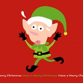 image of  midget elves  - Illustration of Stressing Elf Vector Removable Text - JPG
