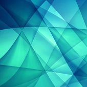 image of refraction  - Abstract blue background - JPG