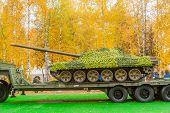 pic of tank truck  - Nizhniy Tagil - JPG