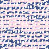 pic of stroking  - Ditsy pattern with short hand drawn strokes - JPG