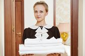 stock photo of housekeeping  - Hotel service - JPG
