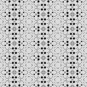 foto of lace-curtain  - Curtain lace seamless generated texture or background - JPG