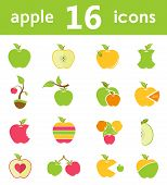 picture of fruits  - Apples - JPG