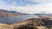 pic of cariboo  - View of Kamloops Lake in the Cariboo region of British Columbia - JPG