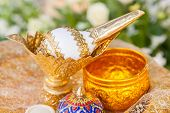pic of cultural artifacts  - Thai wedding object  - JPG