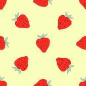 picture of debauchery  - Watercolor strawberry pattern - JPG