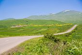 picture of armenia  - Photo of the landscape with rural road - JPG