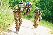 foto of rifle  - military - JPG