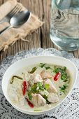 picture of gai  - Coconut milk with chicken - JPG