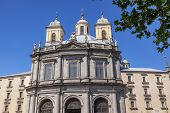 foto of 1700s  - San Francisco el Grande Royal Basilica Steeples Outside Madrid Spain - JPG