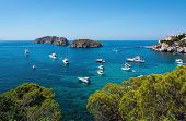Mallorca Summer Mediterranean Seascape poster